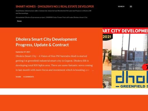 The Maiden Smart City – Dholera SIR, Gujarat