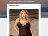 Do you like women with plus size lingerie ?