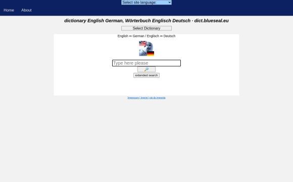 Wörterbuch Deutsch, Spanisch, Englisch und Französisch - blueseal.eu