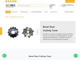 Bevel Gear Cutting Tools Manufacturers | DIC Tools India