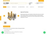 Special Punches | HSS Punches | DIC Tools