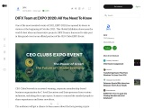 DIFX Team at EXPO 2020: All You Need To Know