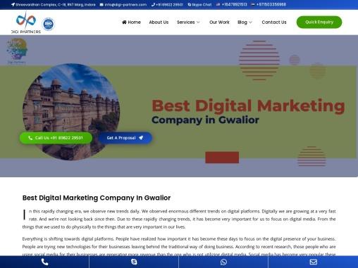 Digi Partners – Best Digital Marketing Agency in Gwalior