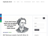 Lewis Carroll Alice In Wonderland Quotes