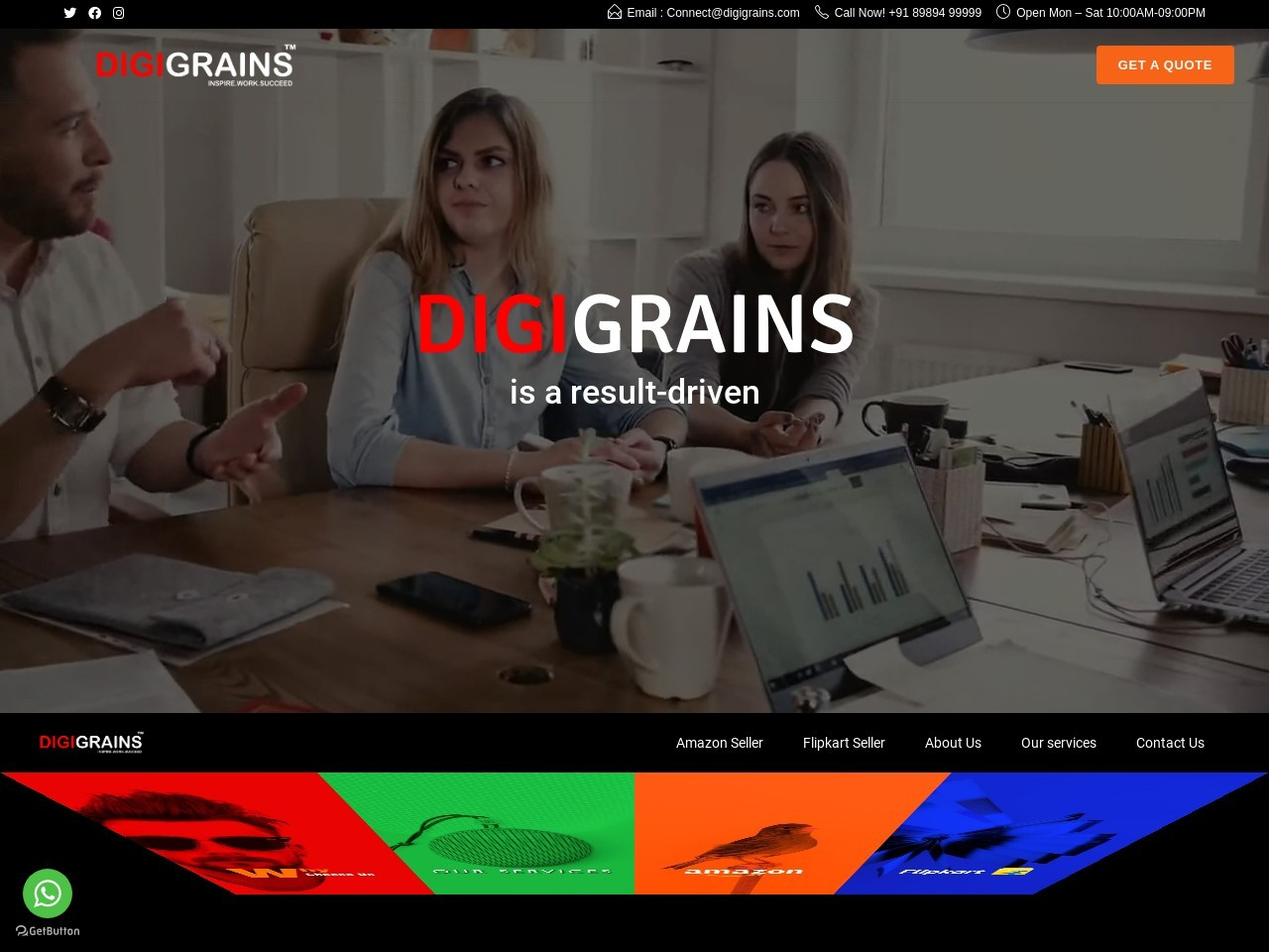 Digigrains Services-Best Digital Marketing, E-Commerce Company In India
