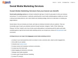 Social Media Marketing services in Bangalore | SMO Services India