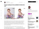 Image masking services available in India at low cost