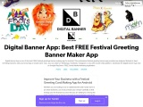 Business Marketing Post Maker | Festival Images and Posters