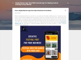 Best Free Greeting Card App for Android to Promote Your Business
