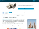 Real Estate Content Writing or Real Estate SEO