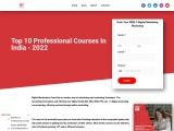 Top 10 Professional Courses In India | Digital Mantra Academy
