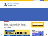 Digital Marketing Course In Hyderabad | Digital Marketing In Hyderabad