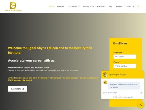 Best python training  institute digital marketing training in Hyd