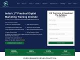 India's 1st Practical Digital Marketing Training Institute