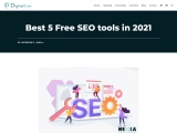 Best 5 Free Seo Tools In 2021 for better performance