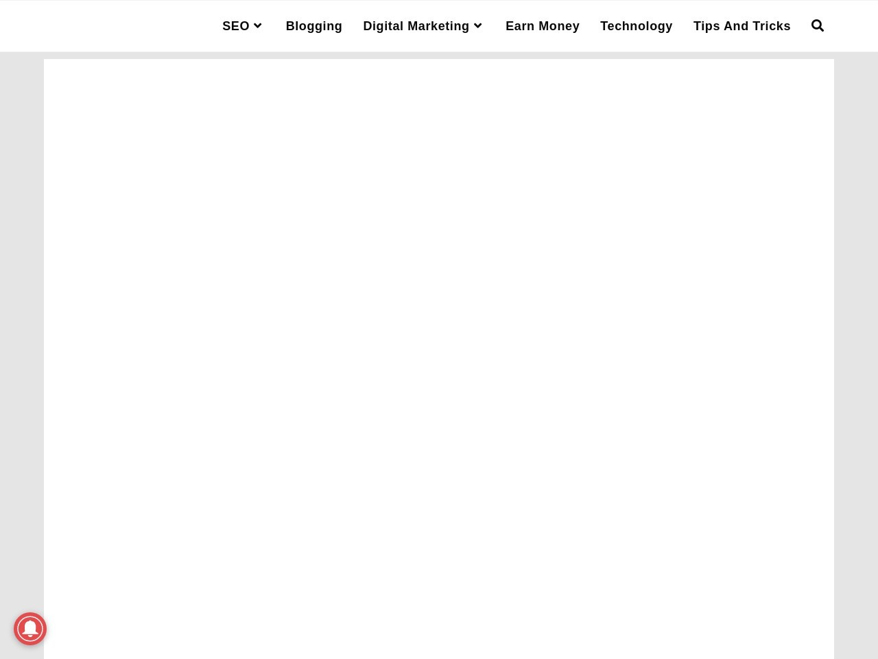 Blog Kya Hota Hai | What Is Blogging In Hindi