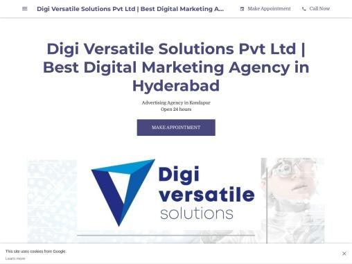 Digital Marketing Services in Hyderabad   Digiversatile Solutions