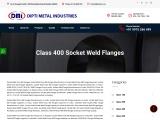 Socket Weld Class 400 Flanges Exporters