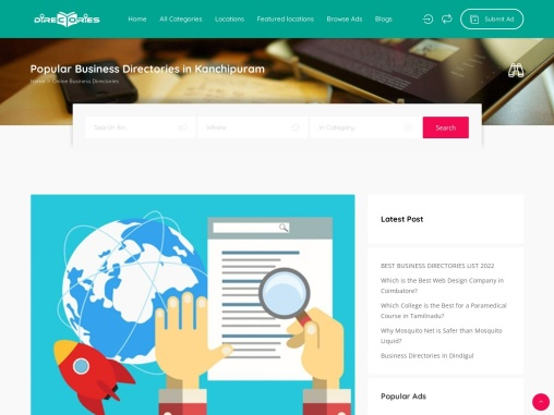 business directories in Kanchipuram