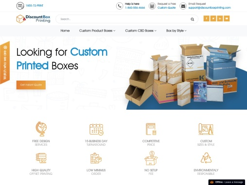 We made Custom Cosmetic Boxes,Packaging,Custom Retail, Mailer and Corrugated Boxes.
