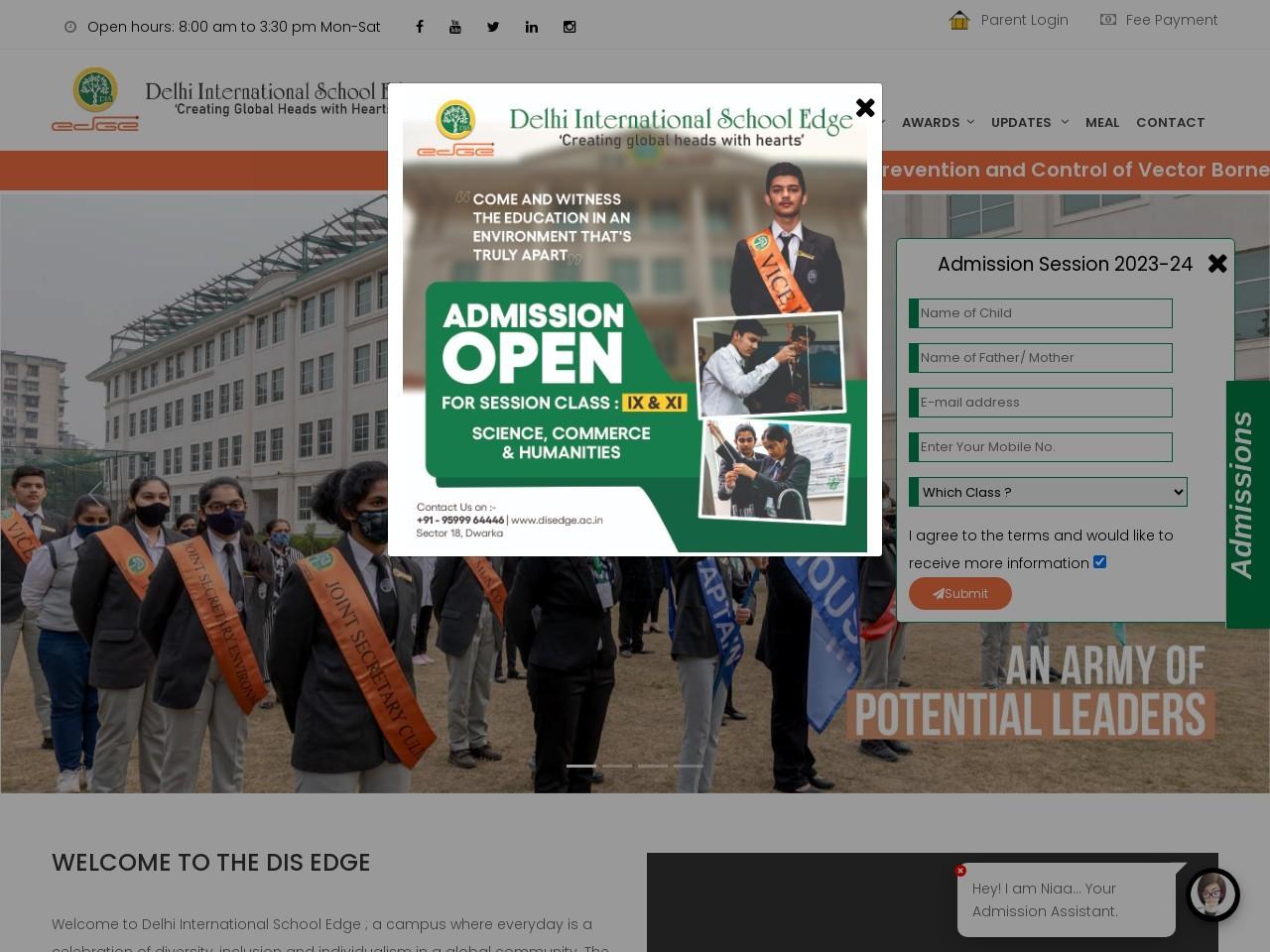 DIS ( Delhi International School)-18 | Top CBSE Public & Senior Secondary School in  Dwarka.