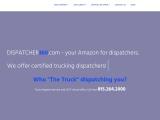 Dispatcher360 provide exclusive transportation dispatch service