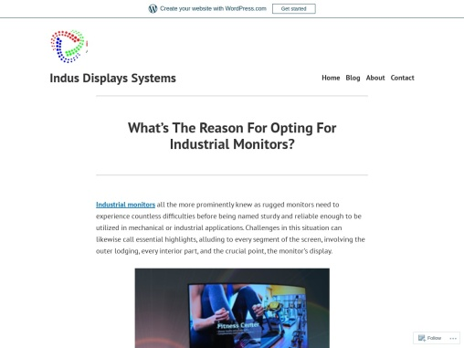 Industrial Monitors || Indus Displays Systems