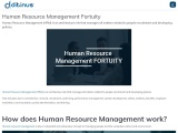 Human Resource Management Fortuity
