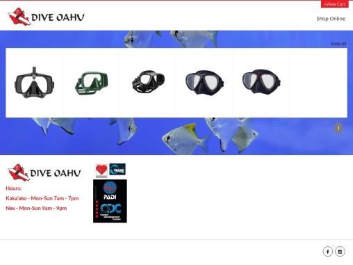 Dive Oahu Scuba Diving Center in Hawaii