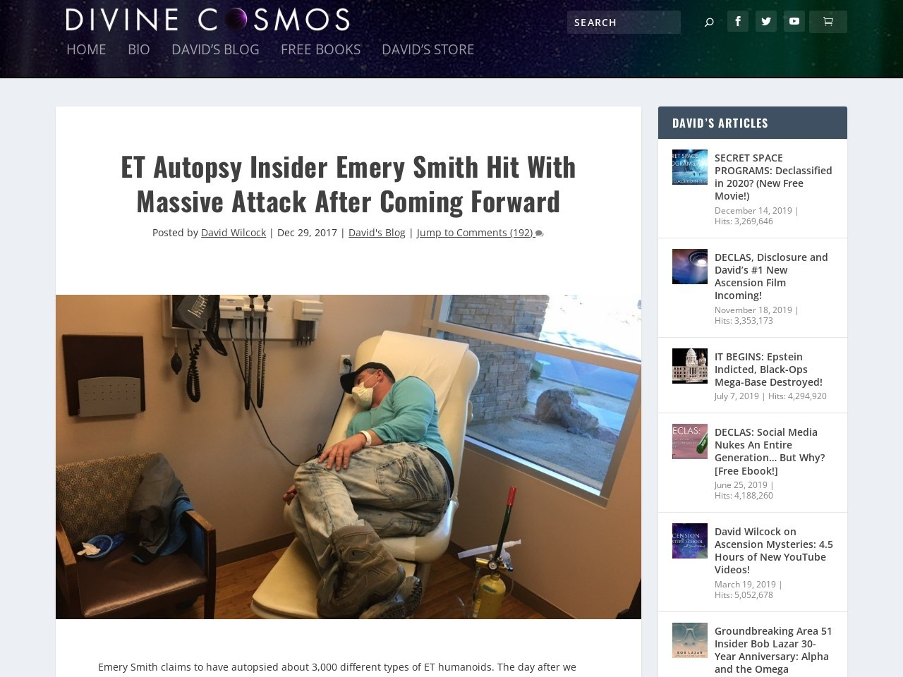 ET Autopsy Insider Emery Smith Hit With Massive Attack After Coming Forward