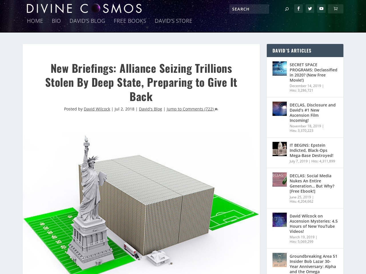 New Briefings: Alliance Seizing Trillions Stolen By Deep State, Preparing to Give It Back