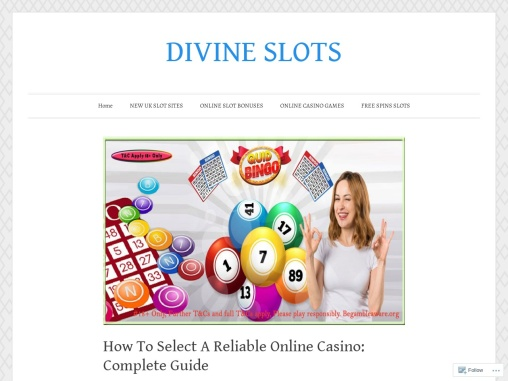 How To Select A Reliable Online Casino: Complete Guide