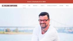 dj-heffungs.de Vorschau, DJ Holger Heffungs