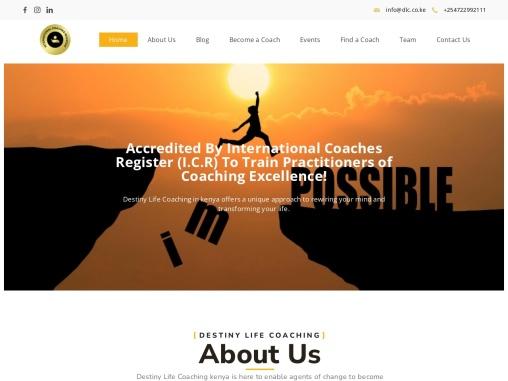 Personal Coach in Kenya | Best Life Coaches | DLC