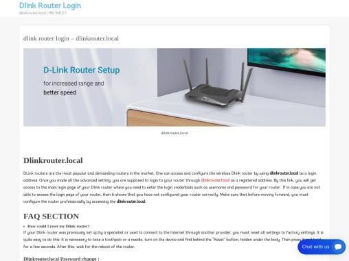 dlinkrouter.local | dlinkrouter local | dlinkrouter.local 192.168.0.1