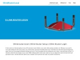 Access dlink router login page  via dlinkrouter.local