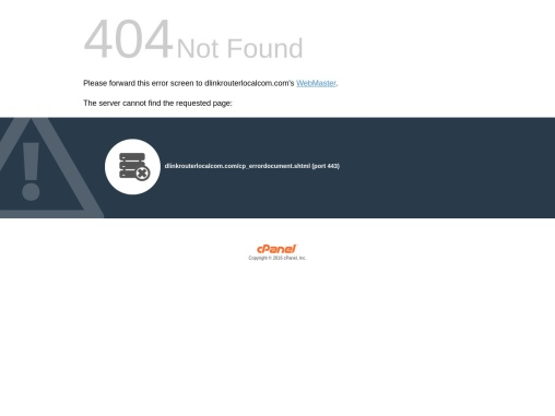 D-Link Wifi Router – dlinkrouter.local