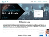 What are the simple steps for d link router local?
