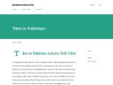 Tiles in Pakistan Lahore SNS Tiles