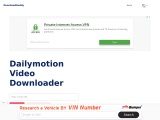 Dailymotion Video Downloader – Download and save videos from internet for free