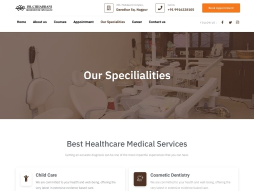 Dr Chhabrani Dental Clinic – Our Specialist