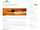 What are the Types of Air Cargo?