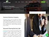 Document Clearing Services UAE – Customs Clearance Company