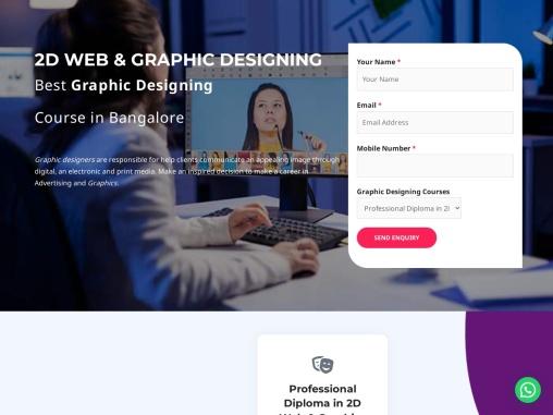 Best institute for graphic designing Bangalore