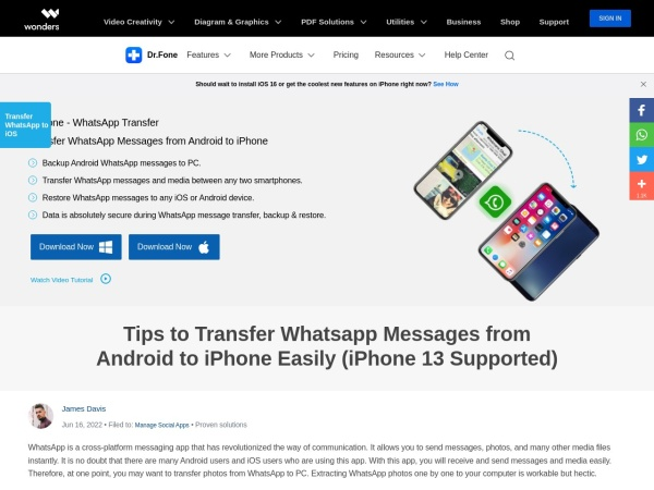 - Best iOS Mover App to Move from Android to iPhone 2020