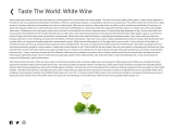 Taste the World: White Wine for drinkerrs
