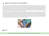 What Is Smooth Or Fruit Wine? for drinkerrs