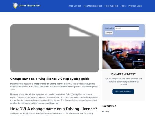 Change name on driving licence UK step by step guide