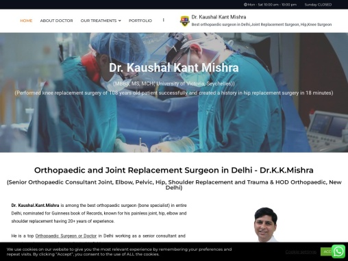 Best Orthopaedic Surgeon in Delhi