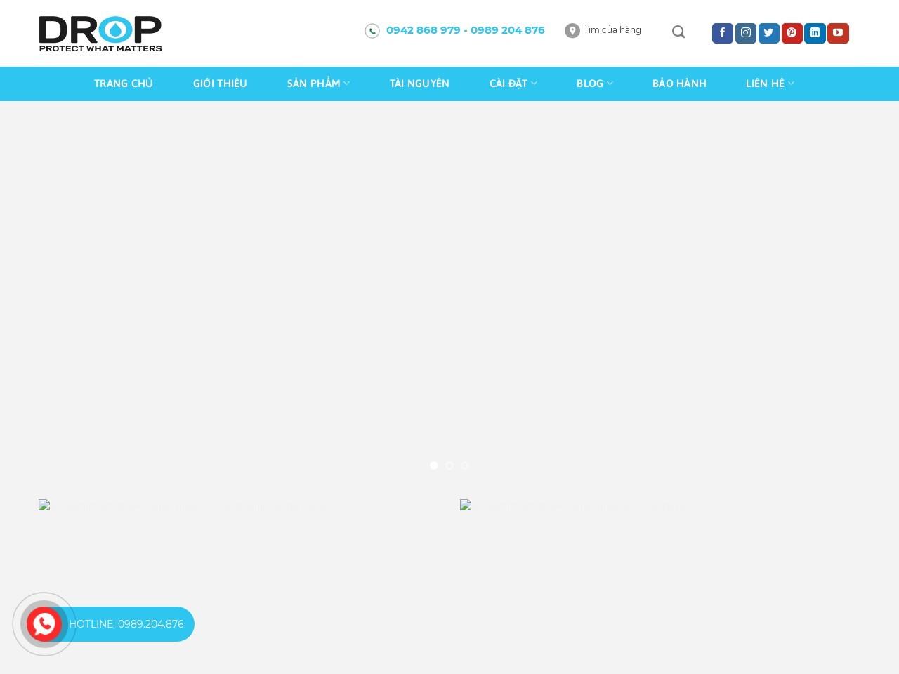 Bộ Làm Mềm Nước Drop Connect Cabinet STC